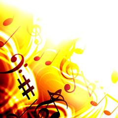 激しい音楽