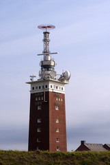 Lighthouse and communications tower
