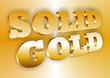 Solid Gold - Schriftzug