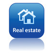 REAL ESTATE Web Button (property sales for sale let rent agents)