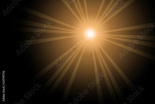 Fotobehang Licht, schaduw Sonne