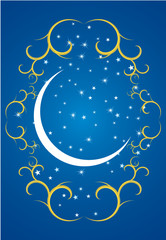 star and crescent of Ramadan