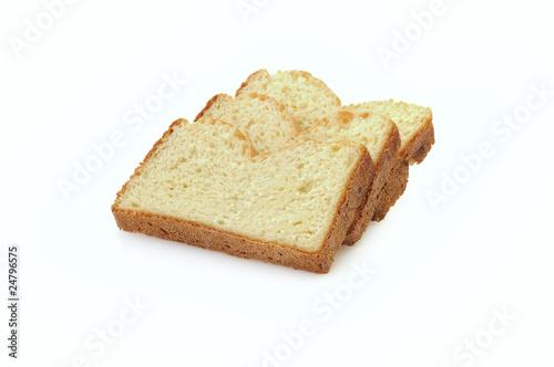 Tranches de pain brioché sans gluten