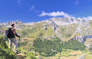 Ruta hacia Lago del Valle,Somiedo,Asturias,España