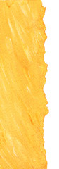 Warm yellow paper background with torn edges