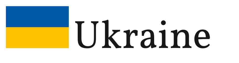 """Banner / Flag """"Ukraine"""""""