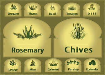 Labels Herbs