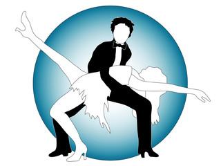 Posing dancers
