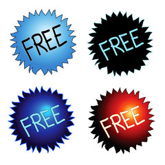 Free sticker icons