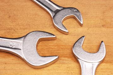 Tre chiavi inglesi