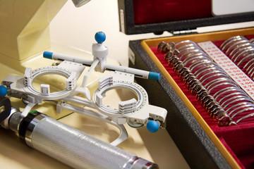 Oculist instruments
