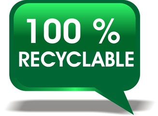 bulle 100% recyclable
