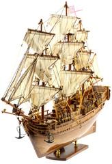 "maquette du ""Bounty"", fond blanc"