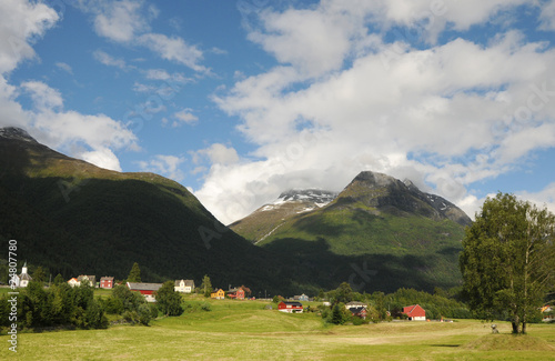 Village of Loen on Nordfjord