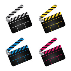 movie clapper boards