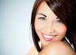 portrait femme beauté sourire