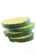 slices of zucchini