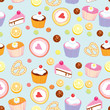 Pattern of cakes and pastries