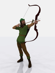 Robin Hood takes aim