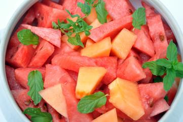 Zuppiera di macedonia di frutta