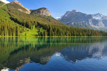 Emerald Lake - Mountain Reflections