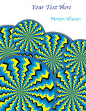 Zigzag Revolutions (motion illusion) poster