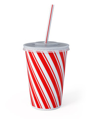 Plastic fastfood cup