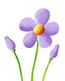 Fototapety Purple flower