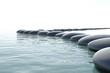 Zen turbulent water
