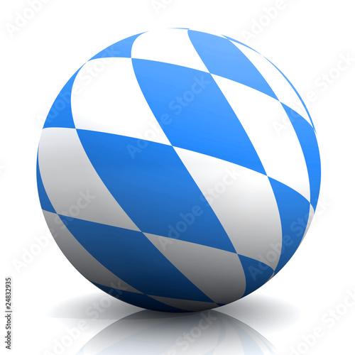 3D Bayern Kugel