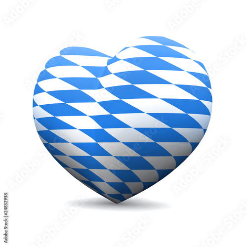 3D Herz - We love Bayern