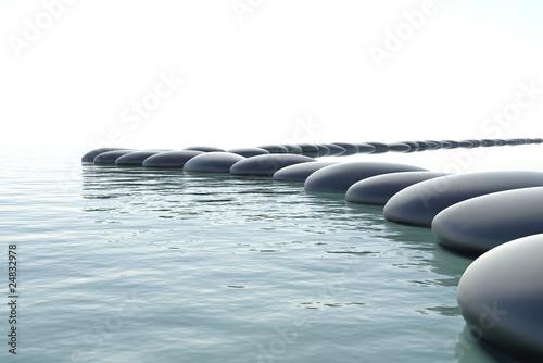 Zen turbulent water - 24832978