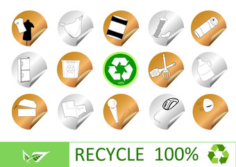 stract recycle sign