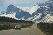 Bow River Parkway & Crowfoot Glacier