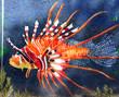 Fototapete Feuerfische - Graffiti - Graffiti