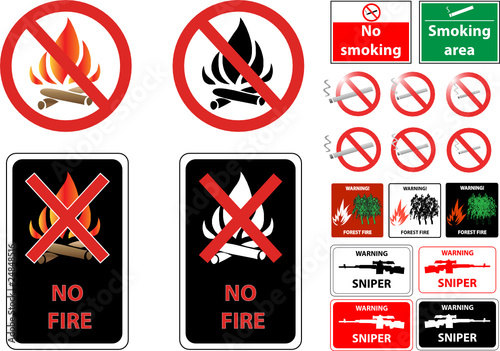 fire smoke weapon prohibit