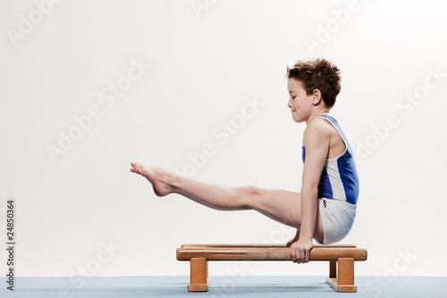 Foto op Plexiglas Fitness Bodenturnen