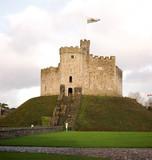 Welsh Castle poster