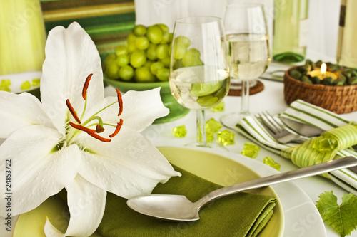 Fototapety, obrazy : Tischdekoration