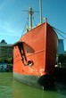 Red ship in Baltimore