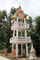 belfry, Wat Charoenphon, Tha Kon Yang, Kantarawichai