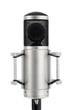 Professionelles Studiomikrofon auf weiß