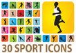 Sport icons - 24856394