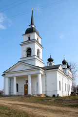 Church in Kobona, Russia