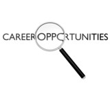 Magnifying glass on career opportunities