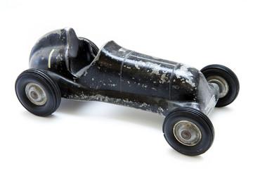 Antique race car toy
