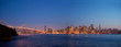 san francisco skyline at twilight