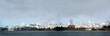 san francisco skyline with a layer of summer fog