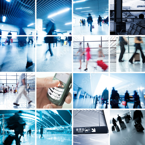 Poster Business Travel Photo Collection
