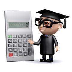 3d Graduate calculates